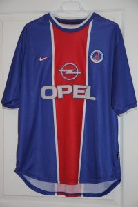 Maillot domicile 1999-2000 (collection MaillotsPSG)