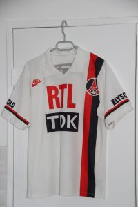Maillot domicile 1989-90 (collection maillotspsg)