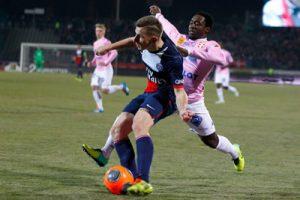 Photo: Ch. Gavelle, PSG.fr. Cette photo en grande taille : http://www.psg.fr/fr/Actus/105003/Galeries-Photos#!/fr/2013/2667/37411/match/-2-0/evian-tg-paris-2-0