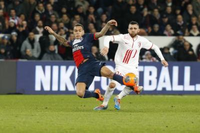 Photo Ch. Gavelle, psg.fr (voir la photo en taille originale: http://www.psg.fr/fr/Actus/105003/Galeries-Photos#!/fr/2013/2675/37696/match//paris-lille-2-2 )
