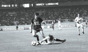 Le jeune Espagnol Fernandez, en 1978 face à Nancy