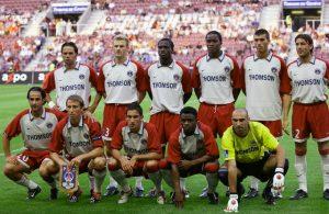 L'équipe avant le match
