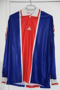 Maillot domicile Coupe de France 1998-2002 (collection MaillotsPSG)