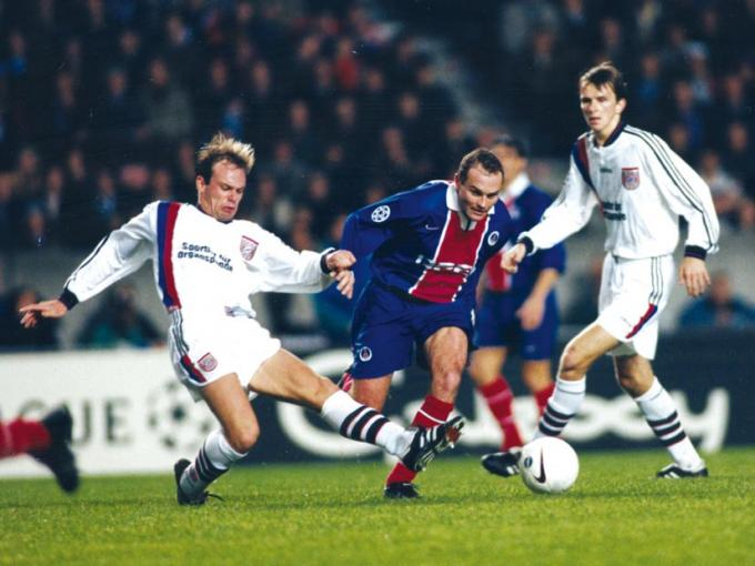 PSG - Bayern Munich 3-1, 05/11/97, Ligue des Champions 97-98 - Histoire du # PSG