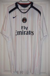 Troisième maillot 2006-07 (collection MaillotsPSG)