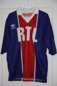 Maillot Coupe de France domicile 1992-93 (collection MaillotsPSG)