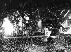 Les supporters du Kop de Boulogne