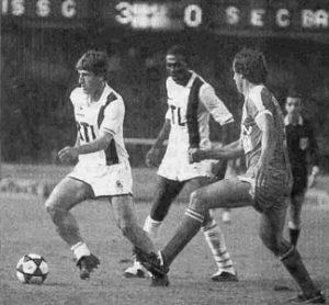 Safet Susic, s'il ne marquera pas, sera impliqué dans cinq des sept buts parisiens!