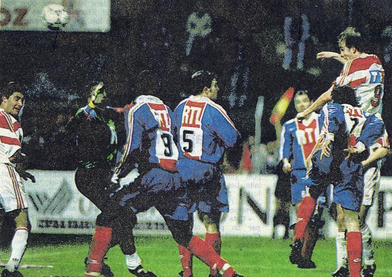 Guingamp psg 0 1 19 03 94 coupe de france 93 94 histoire du psg - Guingamp coupe de france 2009 ...