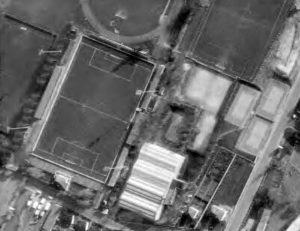 Vue aérienne du stade Paul-Delique
