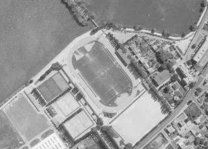 Vue aérienne du stade Henri Longuet