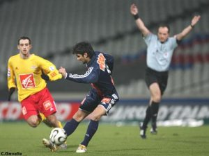 Carlos Bueno, le plus souvent titulaire en CFA, ouvrira le score