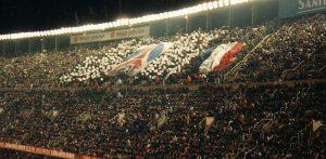 Les fans parisiens présents en Catalogne (mouvement ultra)