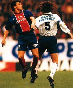 Laurent Fournier à la lutte avec Maroselli