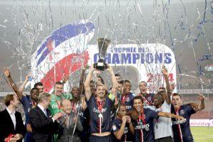 Les parisiens conservent le trophée acquis l'an dernier