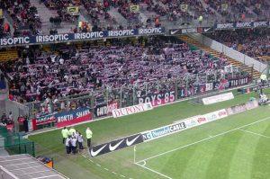 Les supporters parisiens à Bollaert