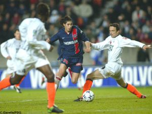 Branko Boscovic, qui marquera le 5ème but parisien (Ch. Gavelle)