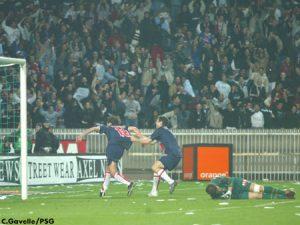 L'un des trois buts parisiens (Ch. Gavelle)