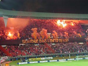 … et celui du Kop de Boulogne (Mouvement Ultra)