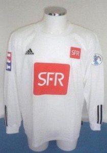 Maillot Adidas blanc uni