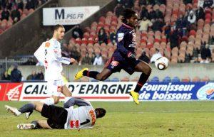 L'ouverture du score de Péguy Luyindula