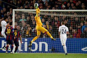 Photo Ch. Gavelle, psg.fr (image en taille et qualité d'origine: http://www.psg.fr/fr/Actus/105003/Galeries-Photos#!/fr/2014/3001/43796/match/Barcelone-Paris-3-1/Barcelone-Paris-3-1)