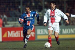 Laurent Fournier à la lutte avec Dos Santos