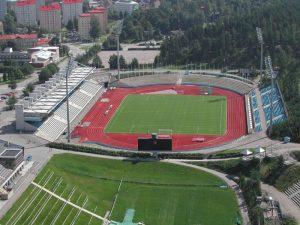 Le stade de Lahti