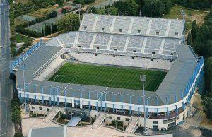Le stade de la Mosson