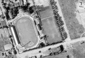 Vue aérienne du stade Marcel-Picot
