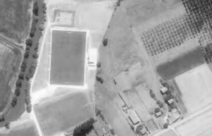 Vue aérienne du stade Pierre-Perie