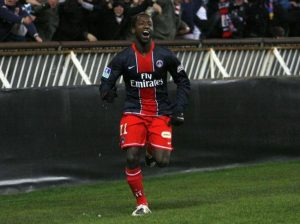 Amara Diané, double buteur contre le RC Lens