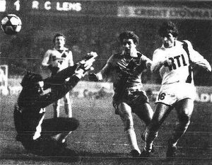 Safet Susic inscrivant le but du 3-1 (R. Krieger)