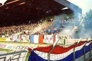 Les fans parisiens sont venus nombreux pour soutenir les leurs