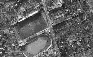 Vue aérienne du stade de Vienne