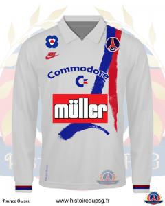 maillot domicile 1991 1992