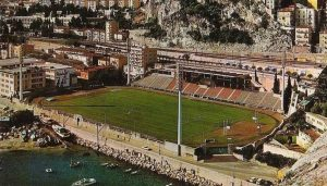 L'ancien stade Louis II