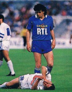 Michel Bibard debout et un marseillais à terre, le résumé du match...