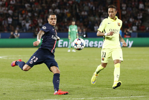 Photo Ch. Gavelle, psg.fr (image en taille et qualité d'origine: http://www.psg.fr/fr/Actus/105003/Galeries-Photos#!/fr/2014/3093/46146/match/Paris-Barcelone-1-3/Paris-Barcelone-1-3)