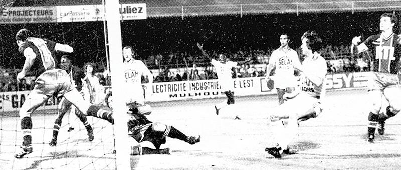 L'ouverture du score de Carlos Bianchi (archives MK)