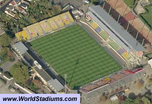 Le stade Léon-Bollée