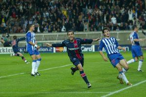 But de Pauleta: le PSG mène 2-0 face au tenant du titre