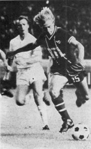 Lionel Justier, entré en cours de match
