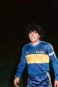 Le jeune Maradona