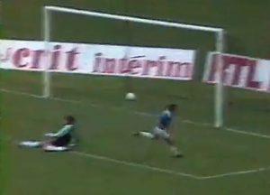 Deuxième face-à-face avec le gardien remporté par un parisien, but de Pérez juste avant la mi-temps.