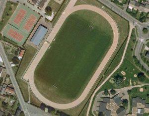 Vue aérienne du stade Fernand-Sastre