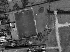 Vue aérienne du stade Louis-Stévenot