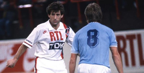 Safet Susic lors d'un des deux match contre Malmö