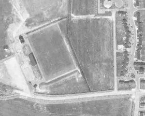 Vue aérienne du stade Marcel-Pinel
