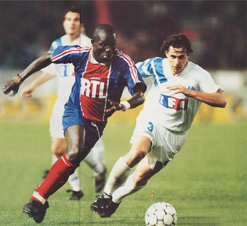 Psg marseille 2 0 11 04 95 coupe de france 94 95 histoire du psg - Marseille coupe de france ...